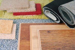 Carpeting and Hardwood Flooring